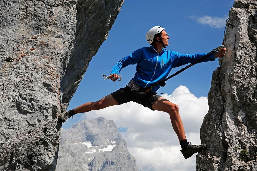 Klettersteig Ramsau : Bergsteigen & klettern appartements pernerhof ramsau